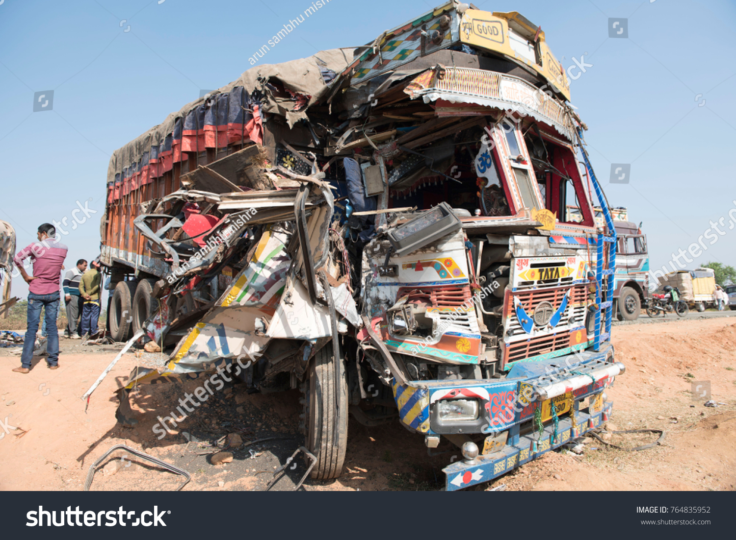 katni india 24 november 2017 truck stock photo (edit now) 764835952
