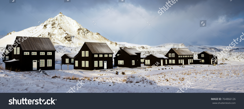 Phenomenal Classic Iceland Village Black Houses Stock Photo Edit Now Download Free Architecture Designs Xoliawazosbritishbridgeorg