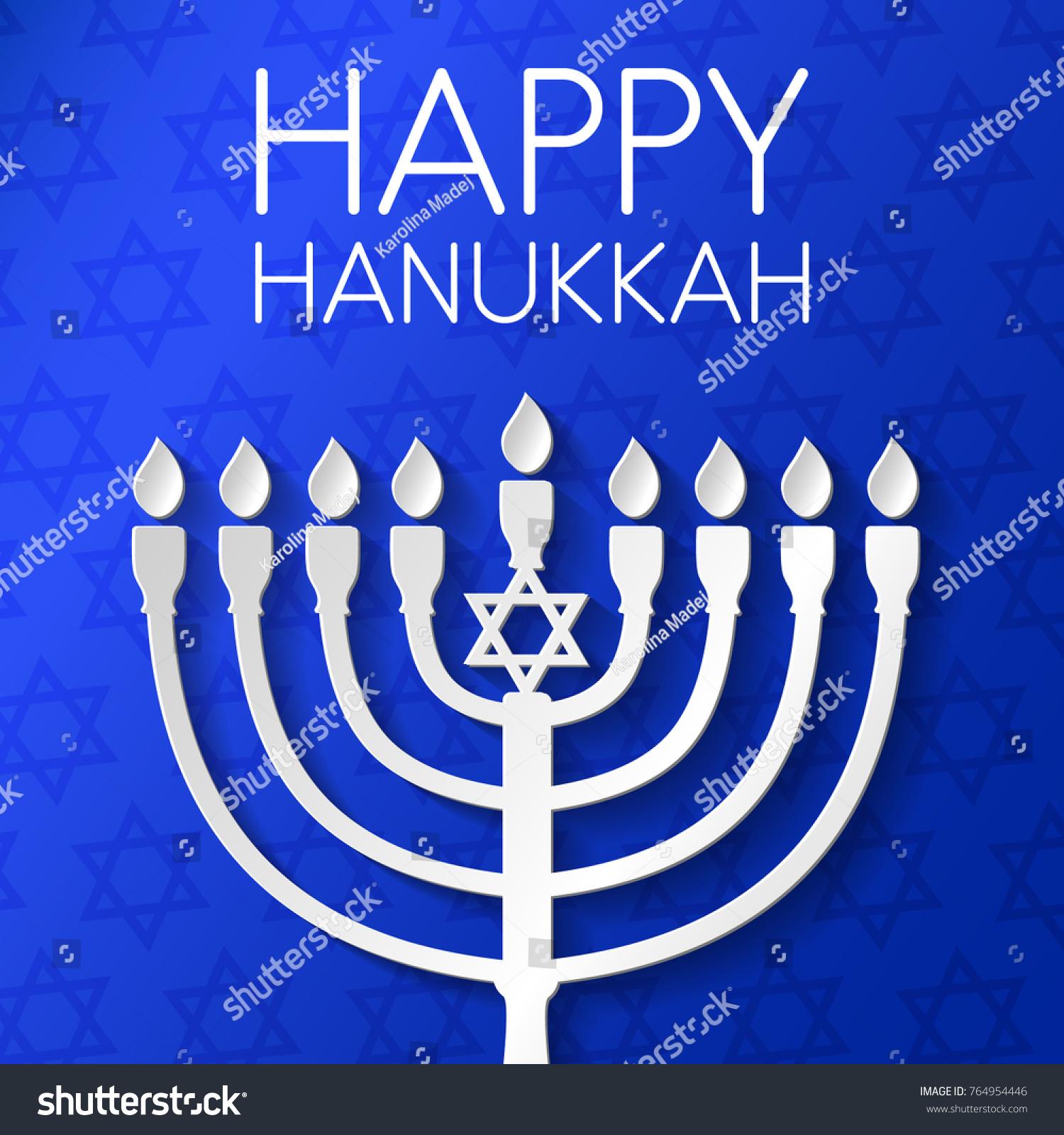 Concept card happy hanukkah menorah greeting stock vector royalty concept of card for happy hanukkah with menorah and greeting vector m4hsunfo