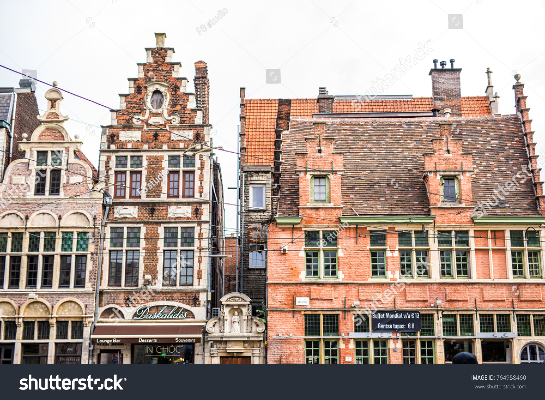 Ghent belgium november architecture ghent stock photo edit