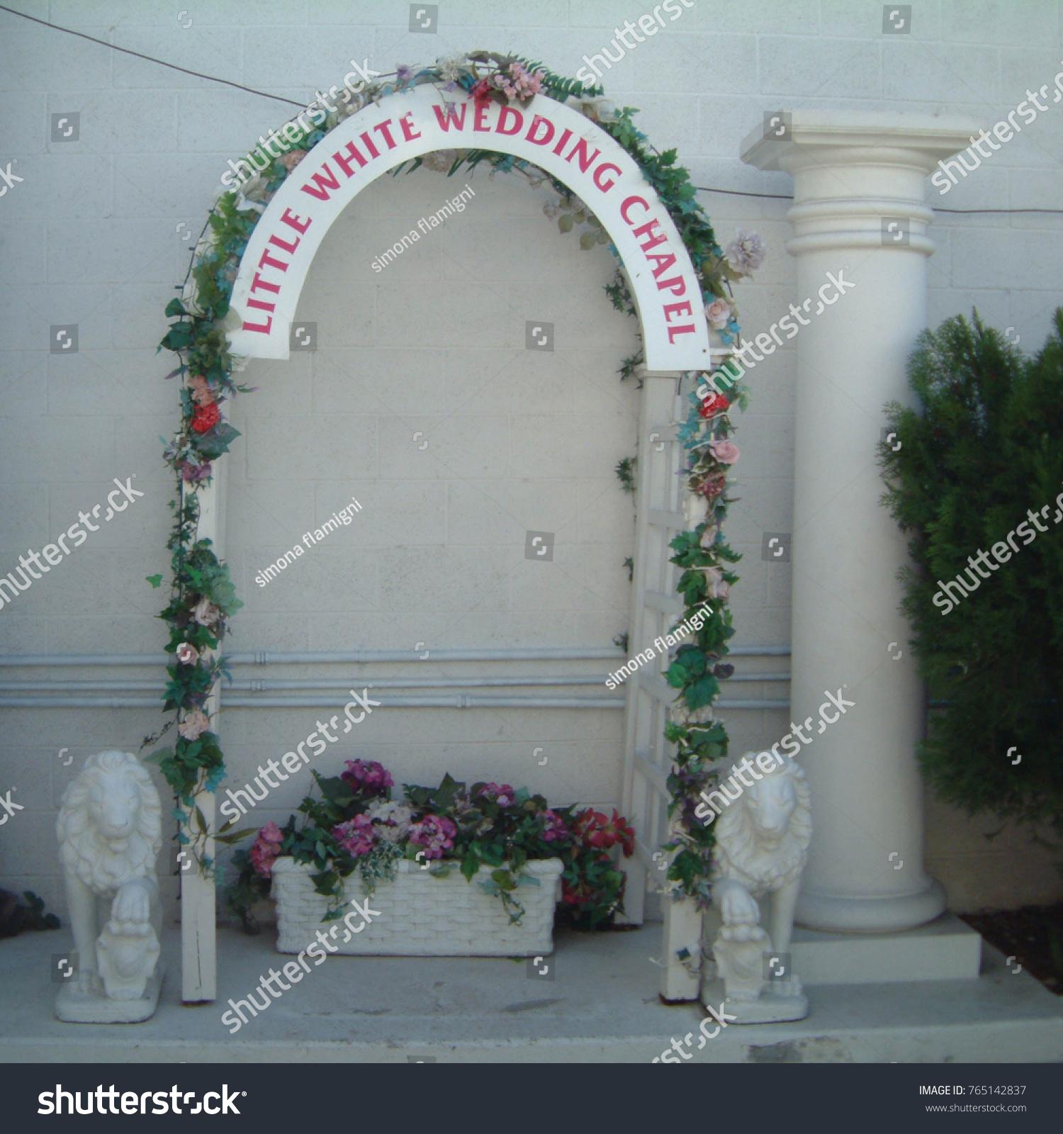 Las vegas united states march 31 stock photo edit now 765142837 las vegas united states march 31 2003 a little white wedding chapel mightylinksfo