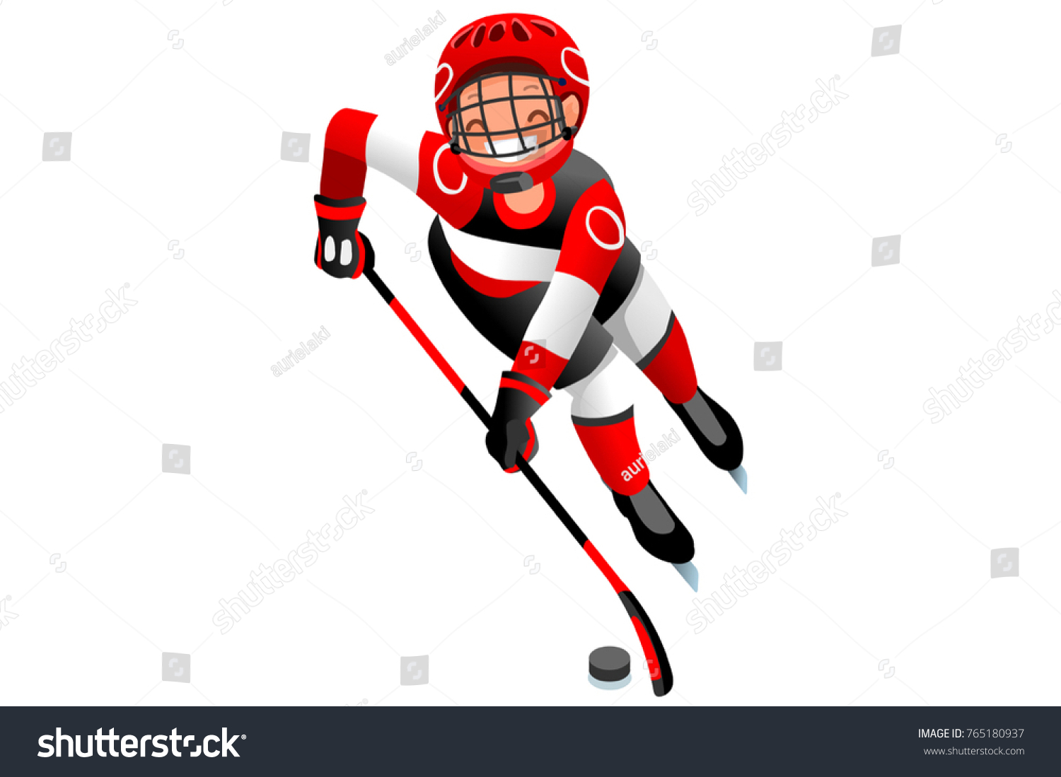 ice hockey vector cartoon clipart winter stock vector hd royalty rh shutterstock com ice hockey clipart black and white ice hockey clipart images