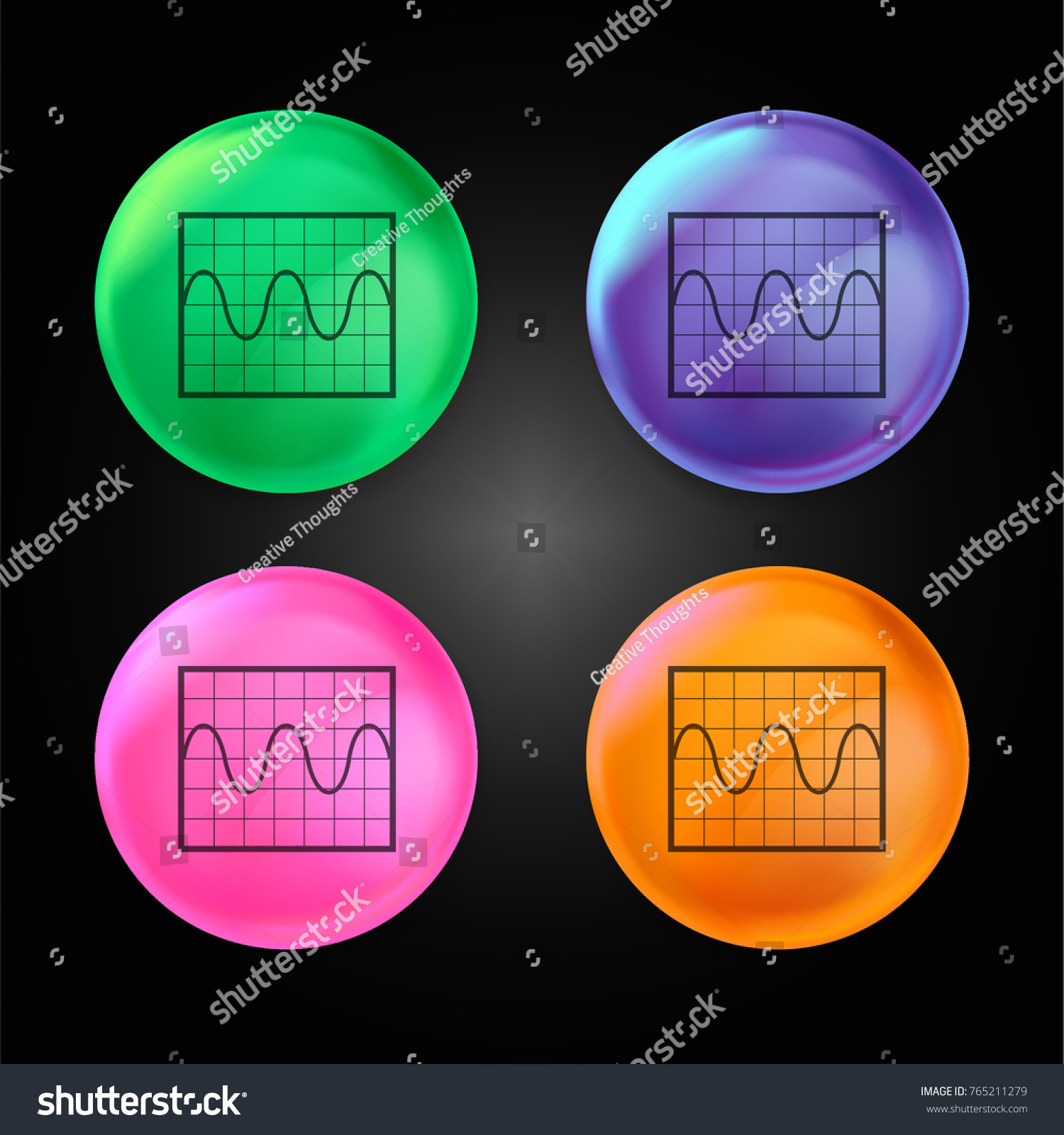 Sine wave graphic crystal ball design stock vector 765211279 sine wave graphic crystal ball design stock vector 765211279 shutterstock ccuart Images