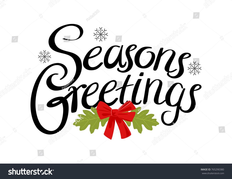 Seasons greetings text christmas theme background stock vector seasons greetings text for christmas theme and background kristyandbryce Images