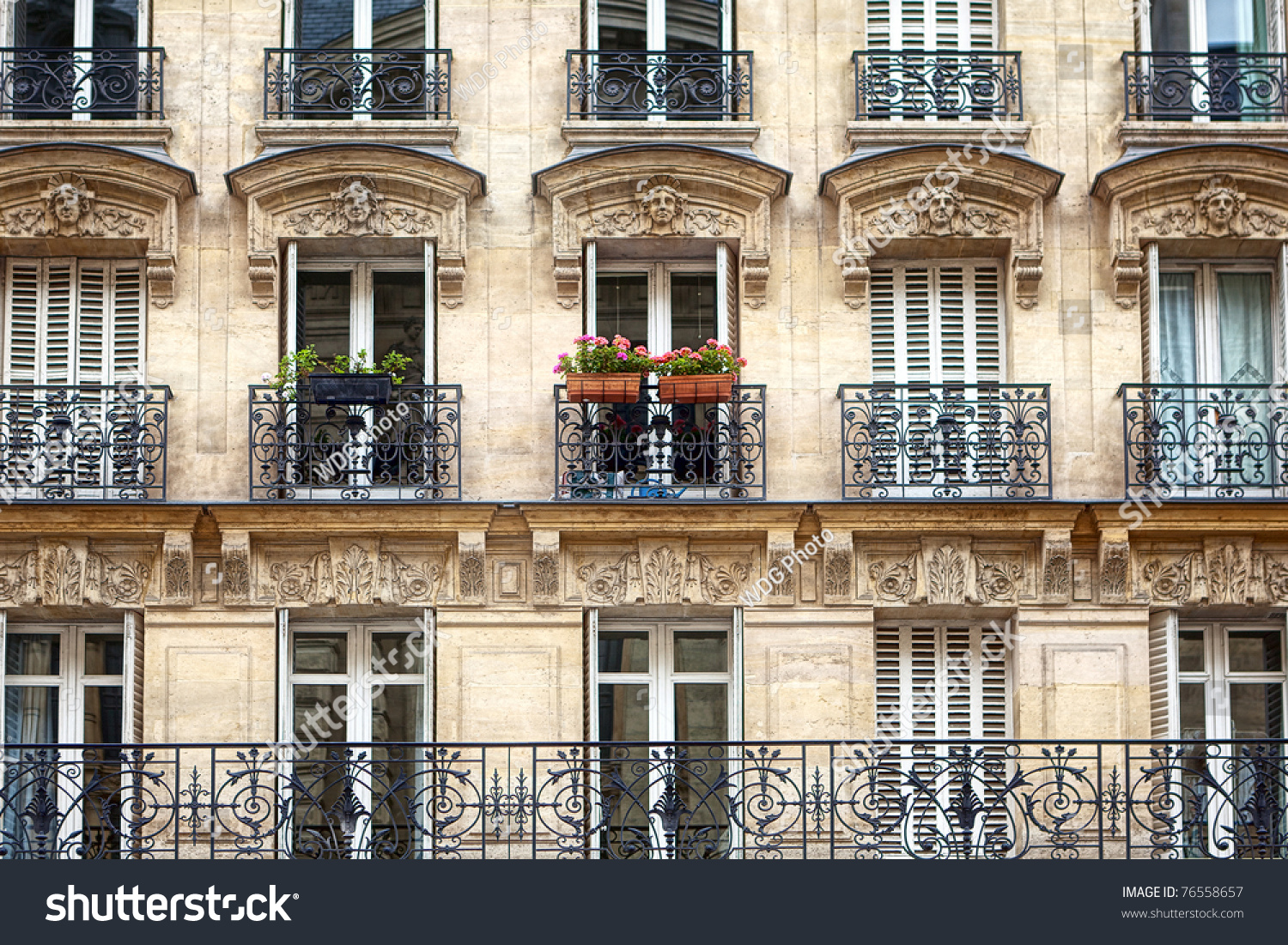 Apartment Building Balcony Fotka Shutterstock