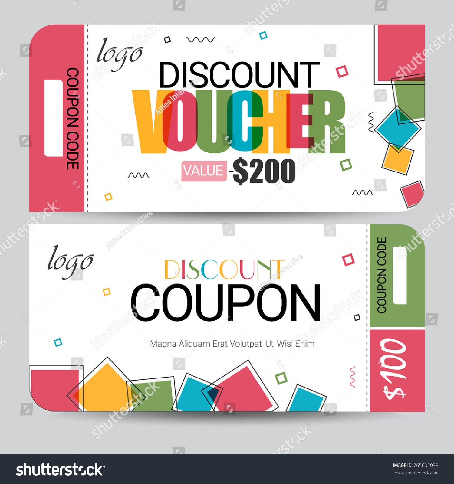 Creative discount voucher gift card coupon stock vector 765602038 creative discount voucher gift card coupon stock vector 765602038 shutterstock negle Gallery