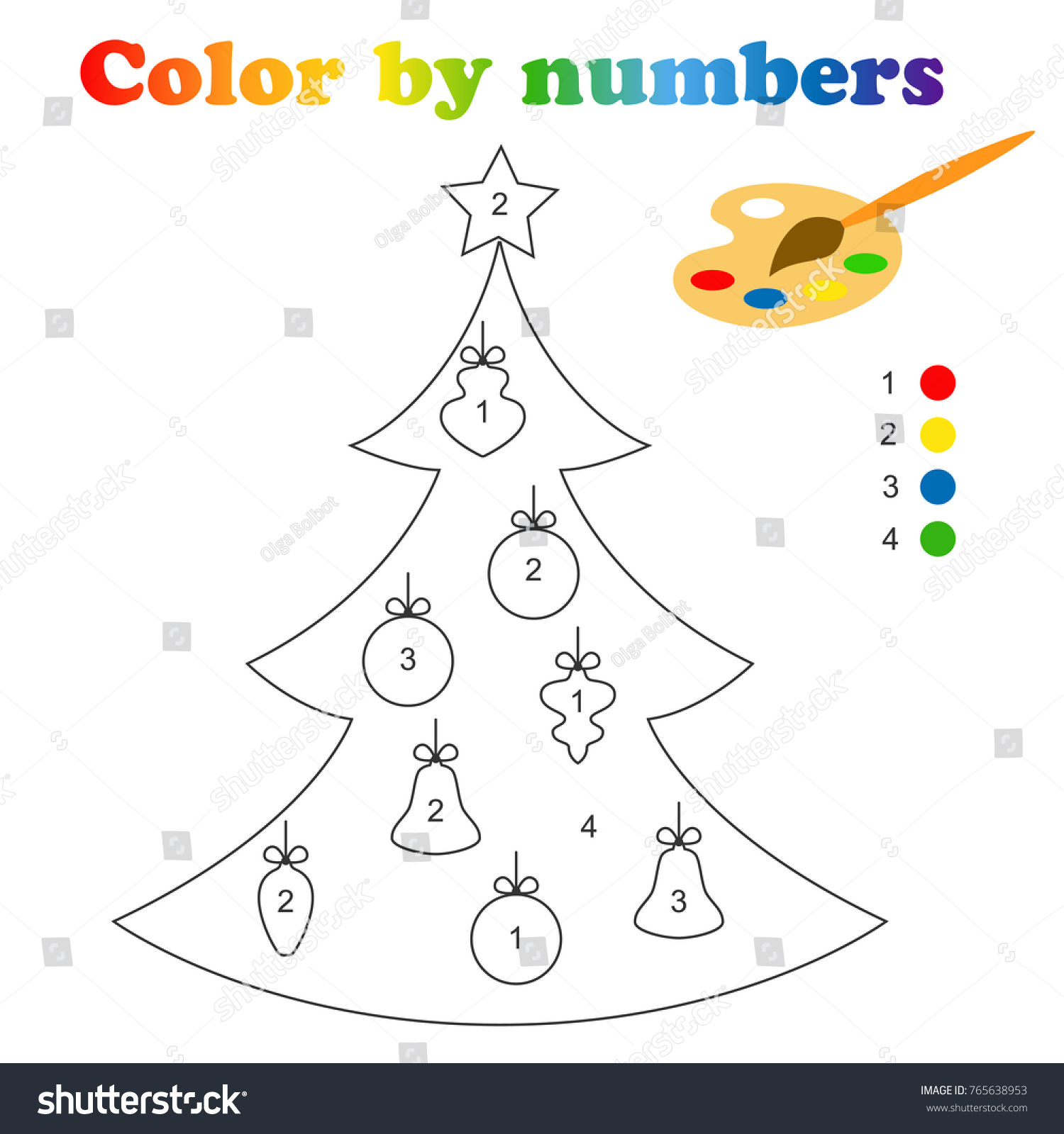 Christmas Adult Color By Numbers (Volume 1): 50 Color By Numbers Christmas  Coloring Pages for Adult ....100 Peg 50 Christmas Numbers Images by Rainbow  Publishing | 1600x1500