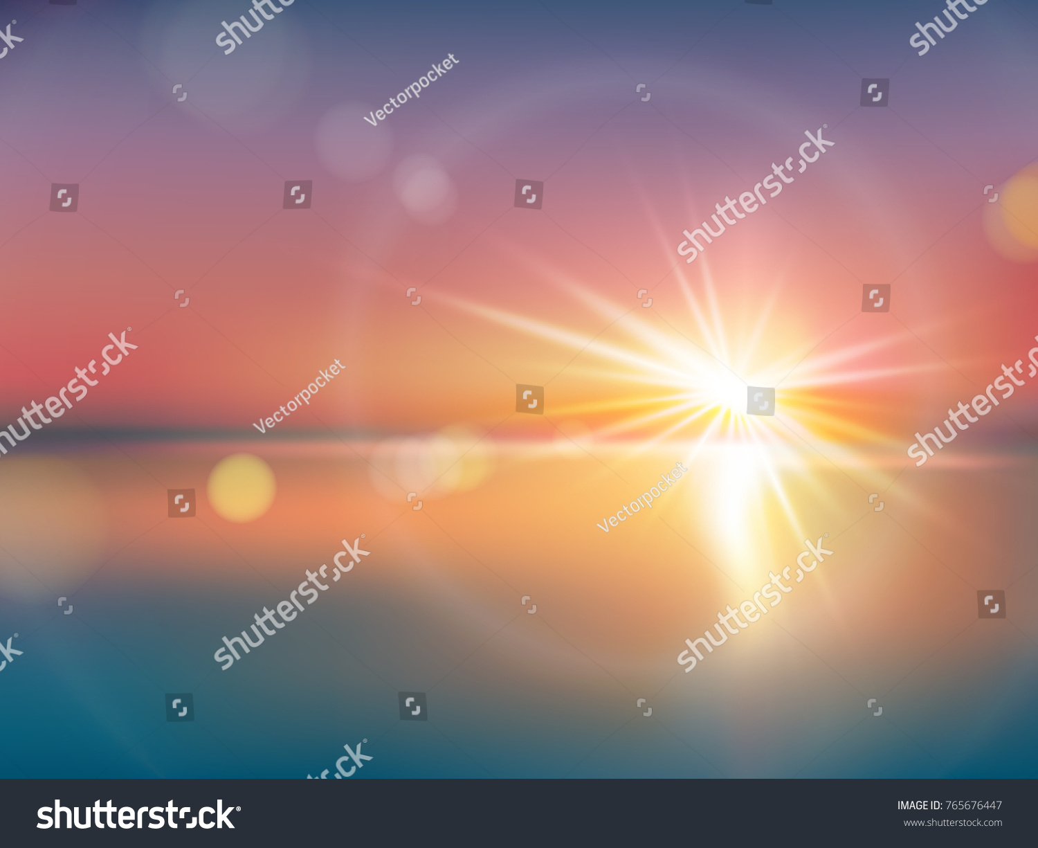 Natural Background Bright Sunlight Light Effect Stock Vector ... for Sun Light Effect Background  143gtk