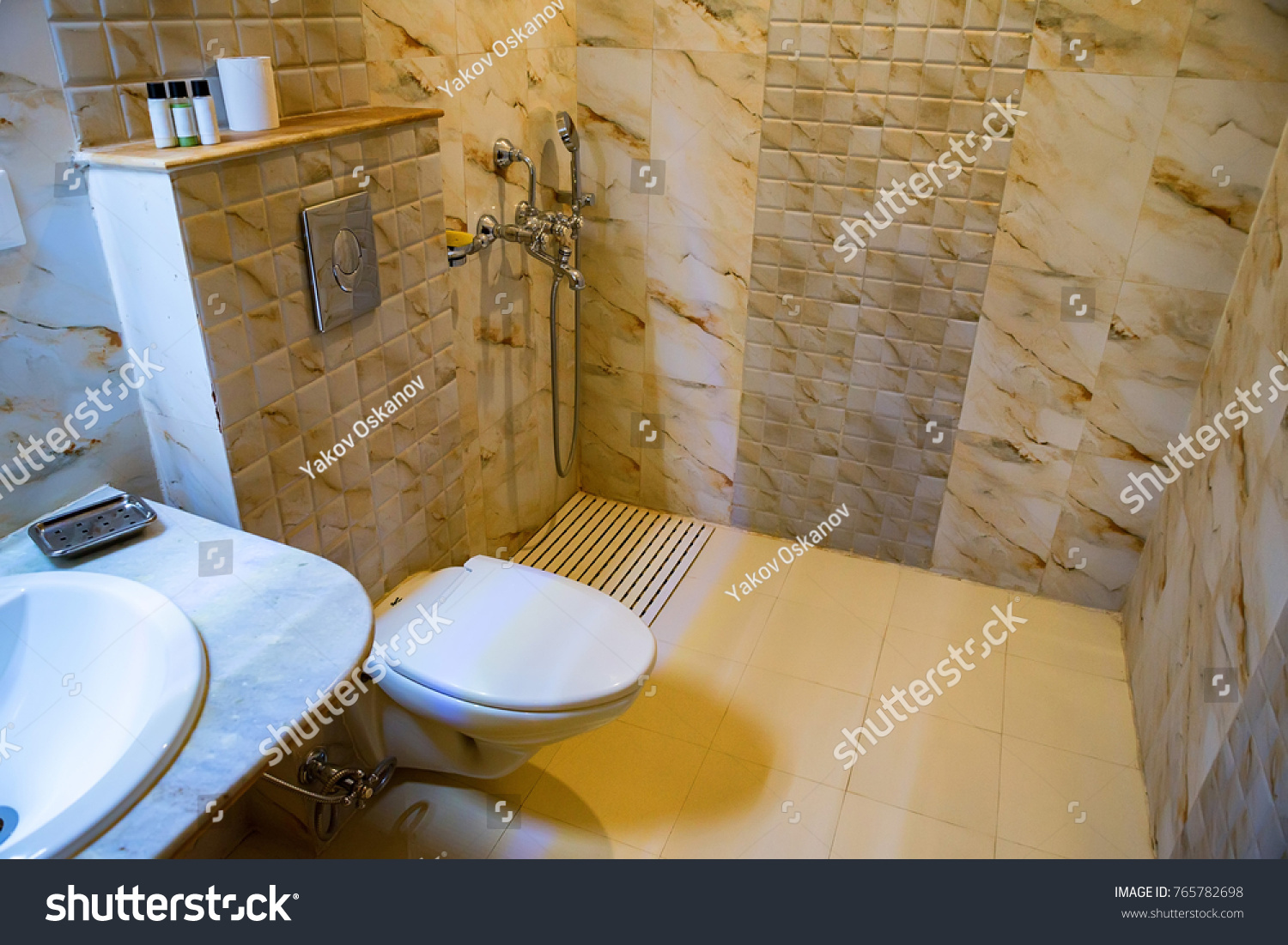 Flush Toilet Bowl Lavatory Stock Photo (Edit Now) 765782698 ...