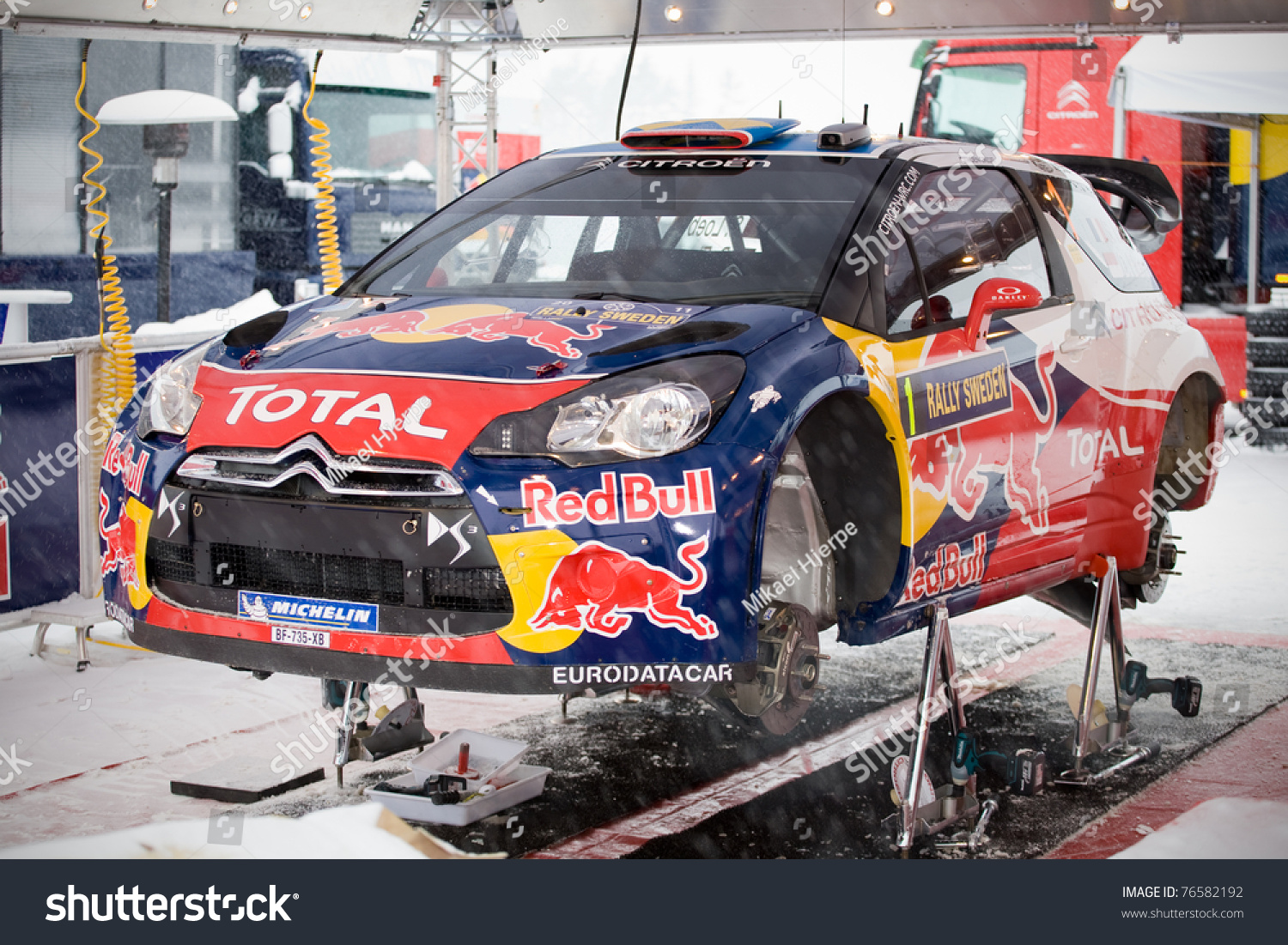 Hagfors Sweden Feb 10 Rally Car Stock Photo 76582192 Shutterstock