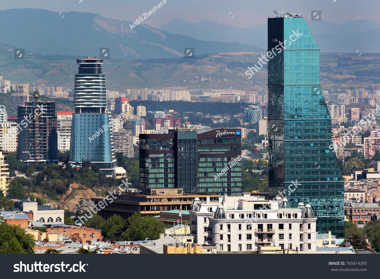 Tbilisi Georgia May 1 2017 7 Star Stock Photo Edit Now 765914395