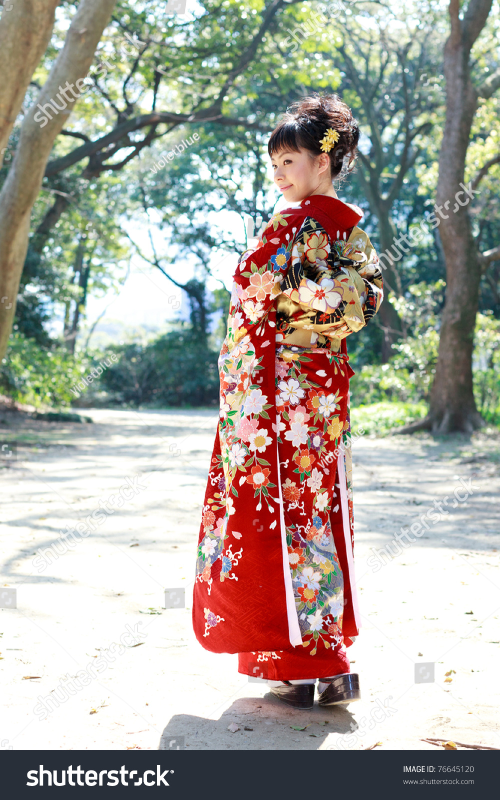 japanese girl wearing kimono - photo #18