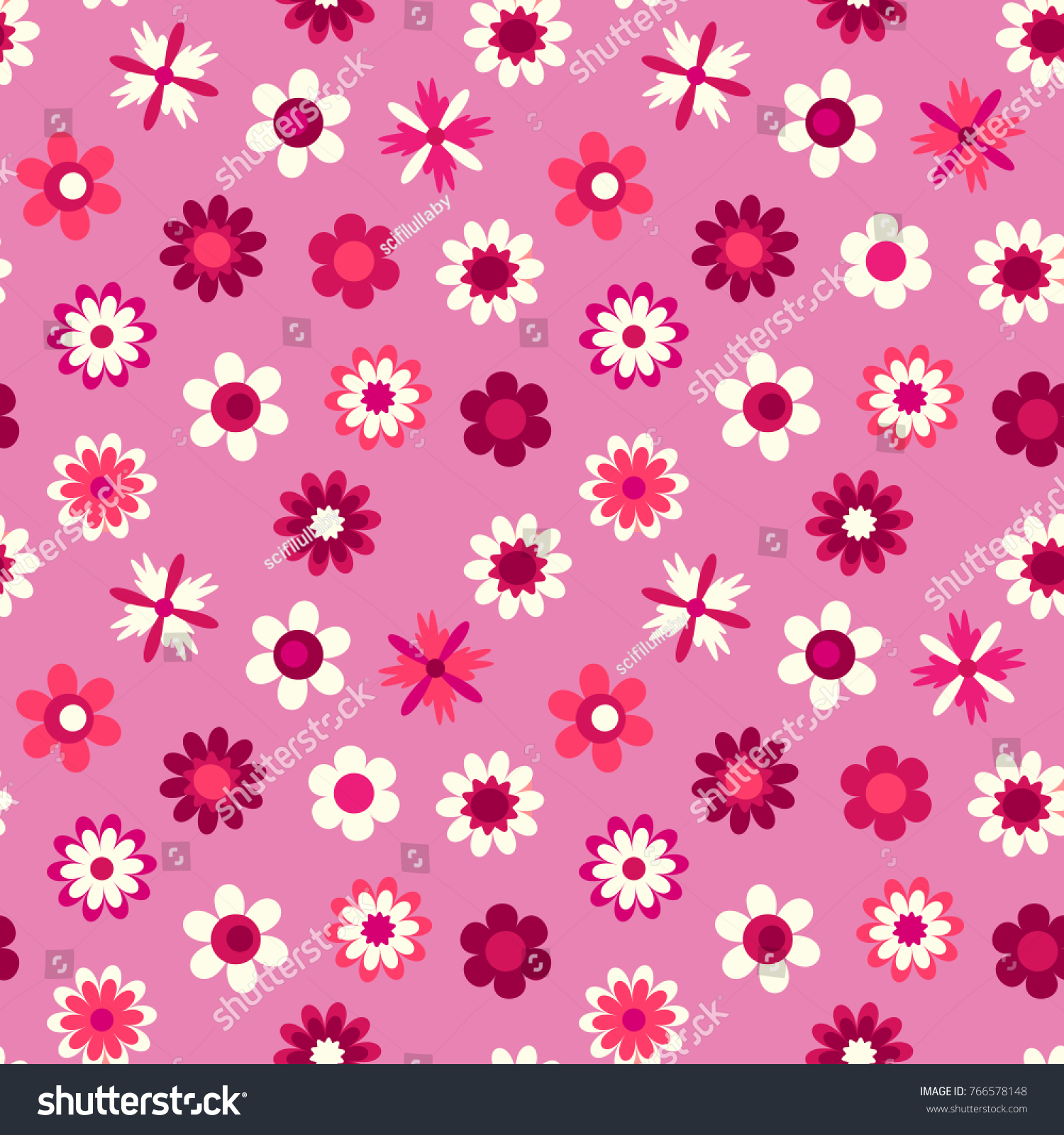 Royalty Free Stock Illustration Of Cute Seamless Pattern Cartoon