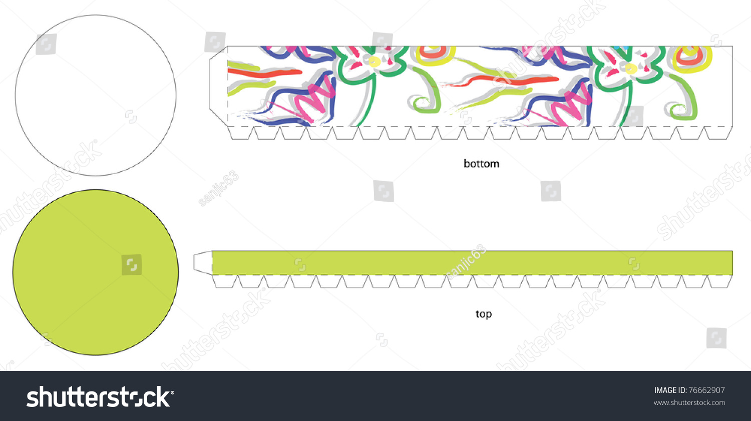 Round abstract box template stock vector 76662907 shutterstock round abstract box template pronofoot35fo Images