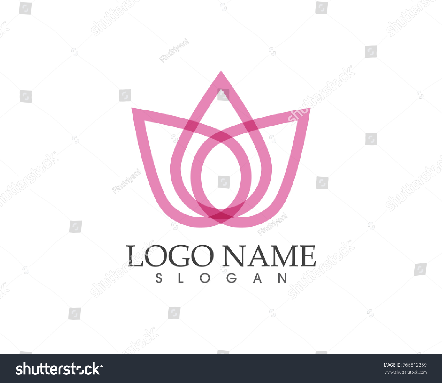 Beauty flower icon logo design template ez canvas id 766812259 izmirmasajfo