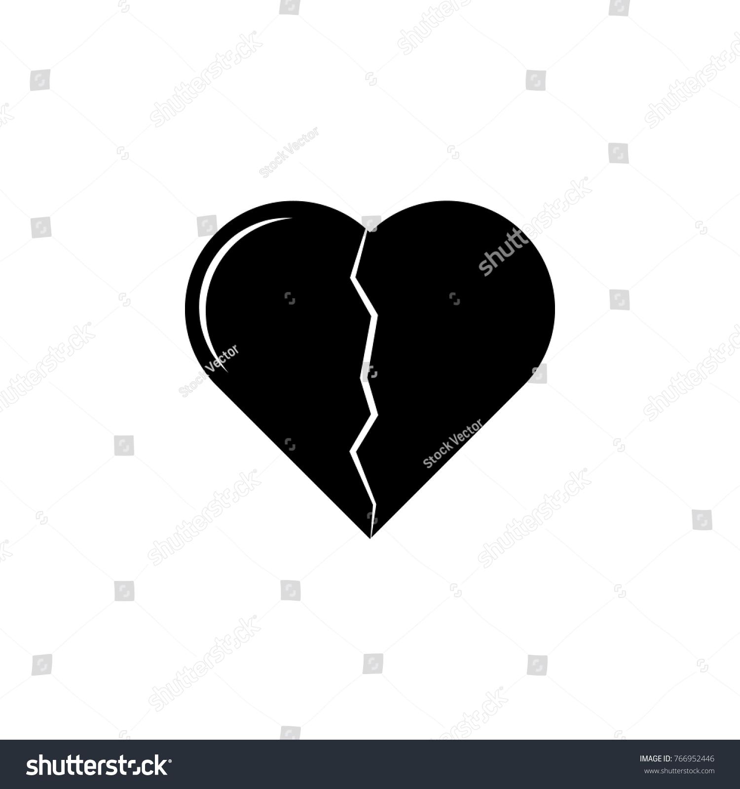 Broken heart icon love couple element stock illustration 766952446 broken heart icon love or couple element icon premium quality graphic design signs biocorpaavc Images