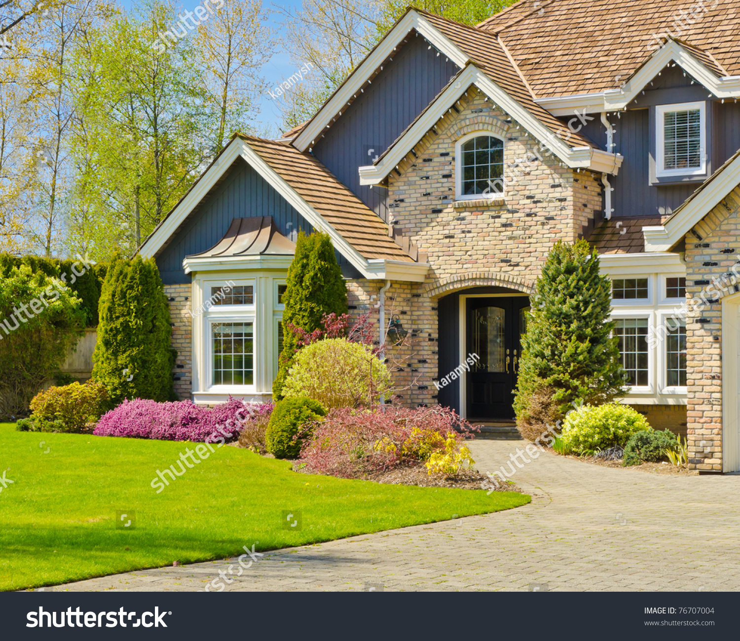 Fragment nice house vancouver canada stock photo 76707004 for Nice home pictures
