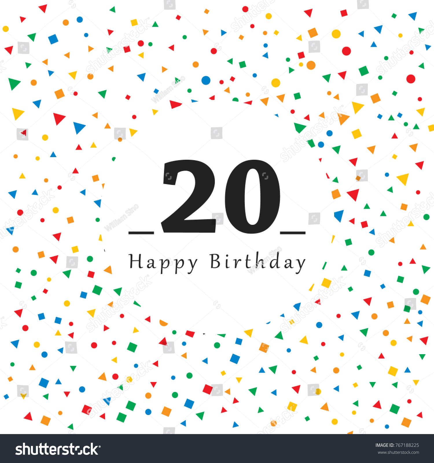 20 Birthday Card Choice Image Free Birthday Cards