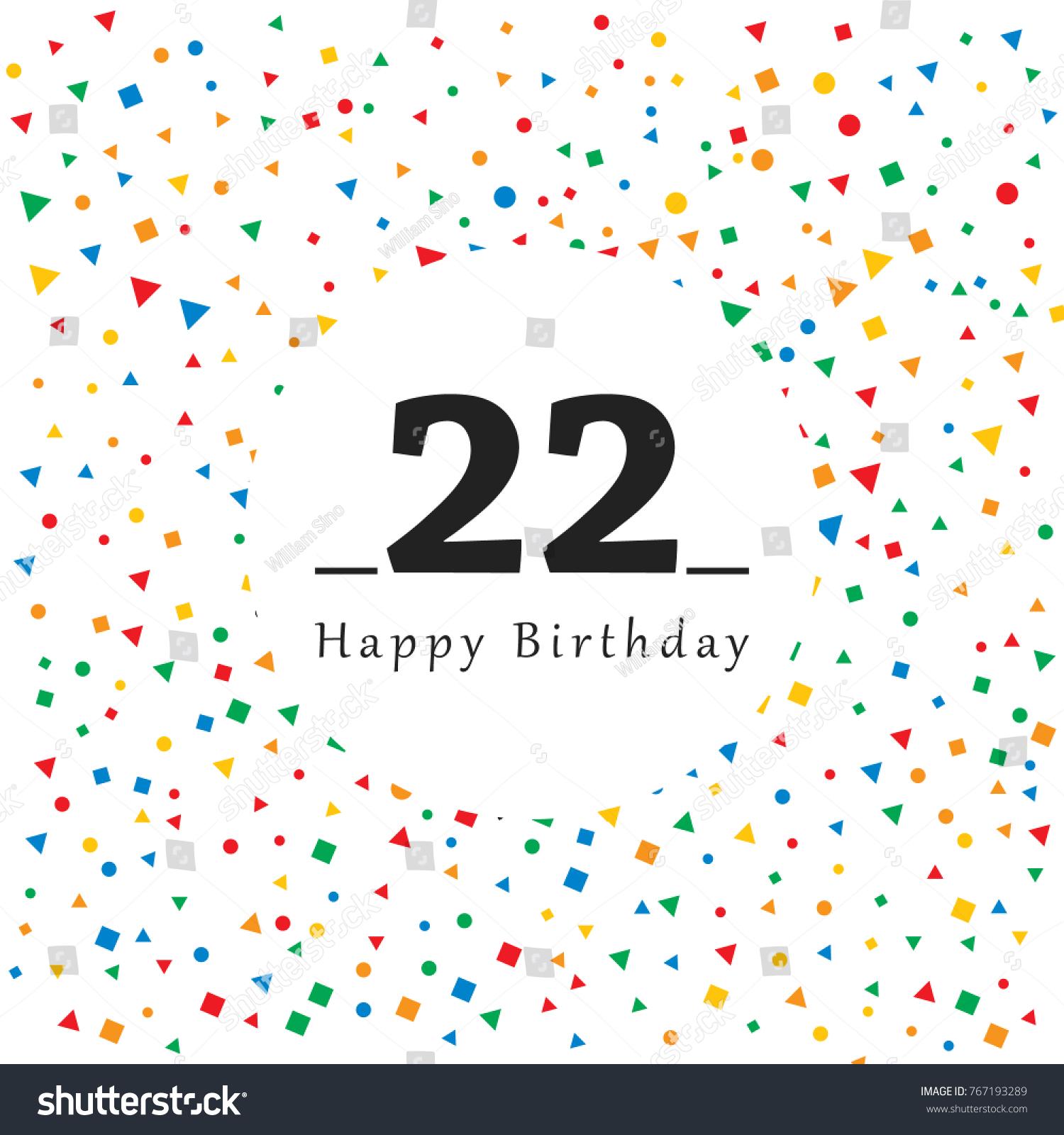22 Birthday Card Free Birthday Cards