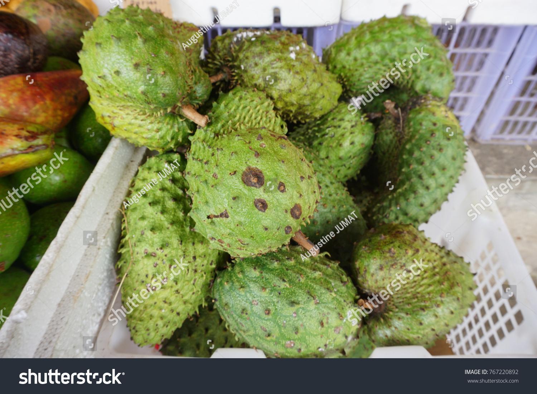 Soursop Prickly Custard Apple Annona Muricata Stock Photo