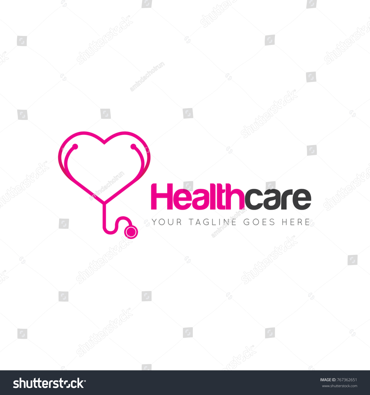 stethoscope template. stethoscope line icon stock vector 393552046, Powerpoint templates