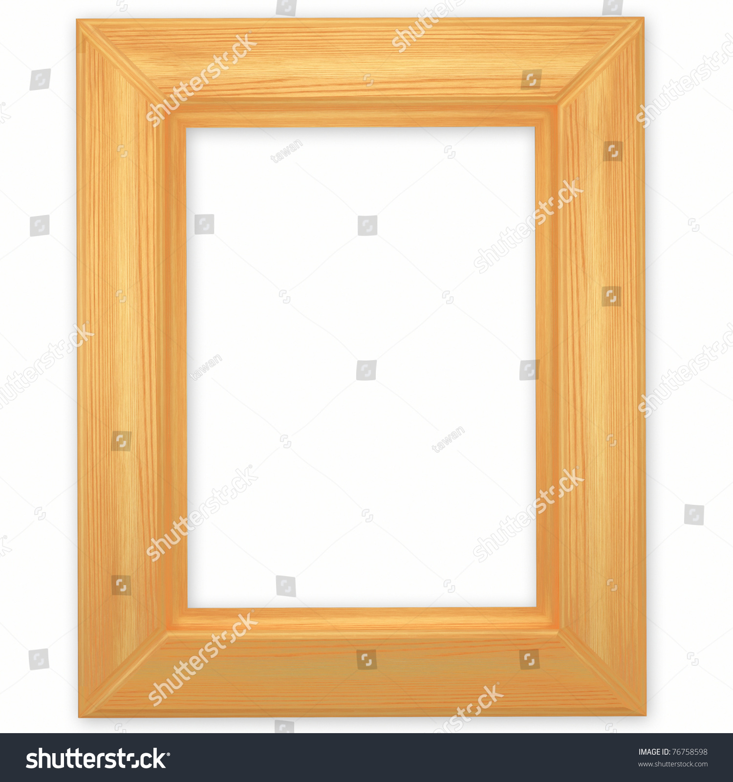 unfinished wood frame preview save to a lightbox