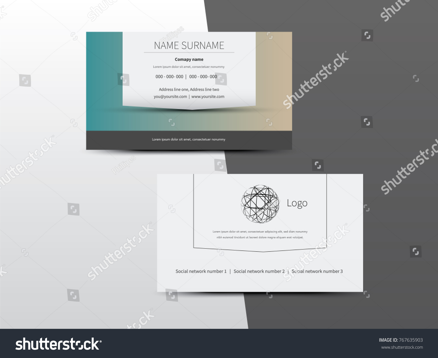 Business card with two addresses images free business cards business cards with 2 logos choice image free business cards vector business card white shape front magicingreecefo Image collections