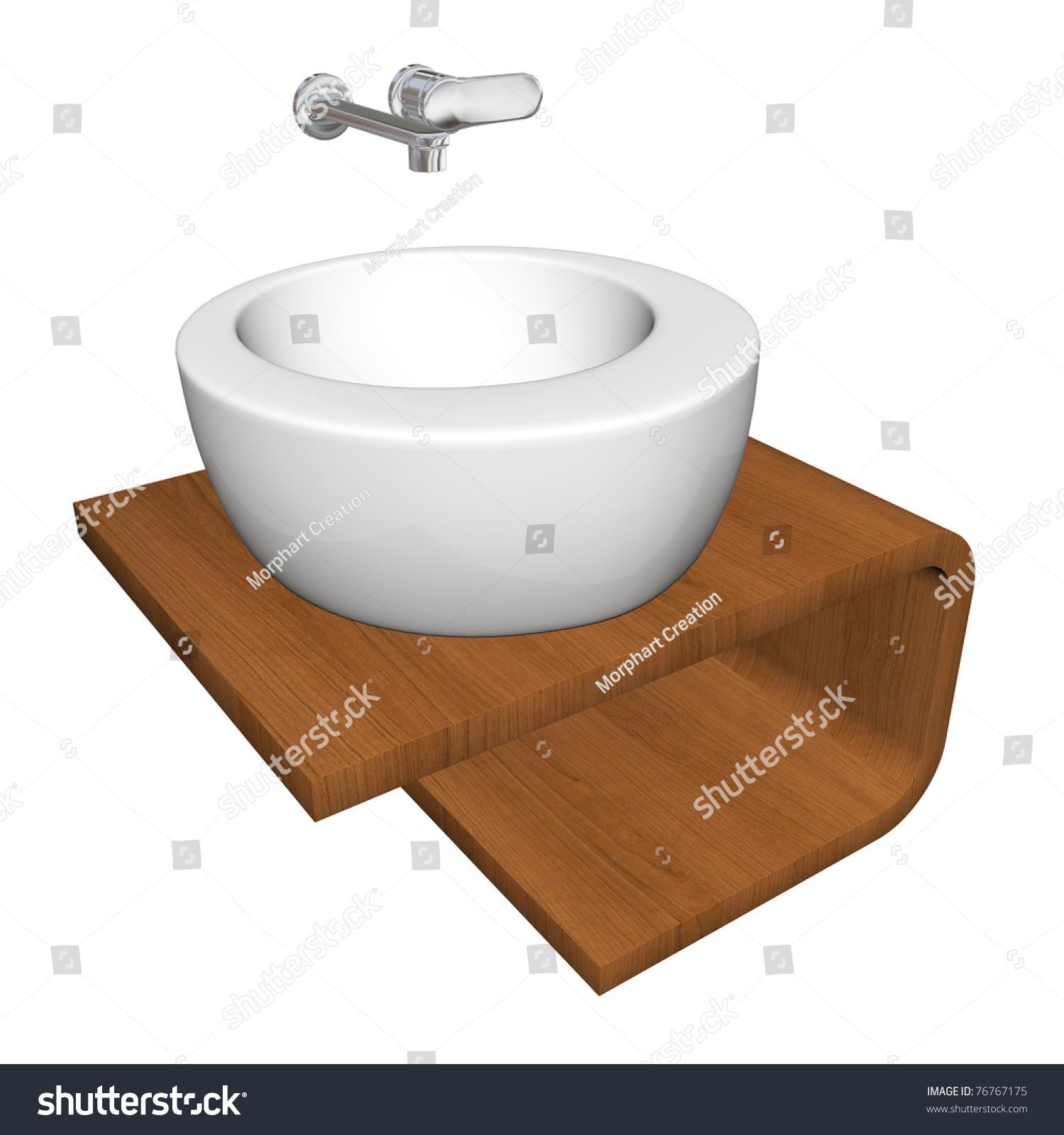 modern bathroom sink set with ceramic or acrylic wash bowl chrome