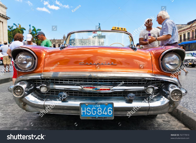 Havanamay 3 Front View Old Chevrolet Stock Photo 76777810 - Shutterstock