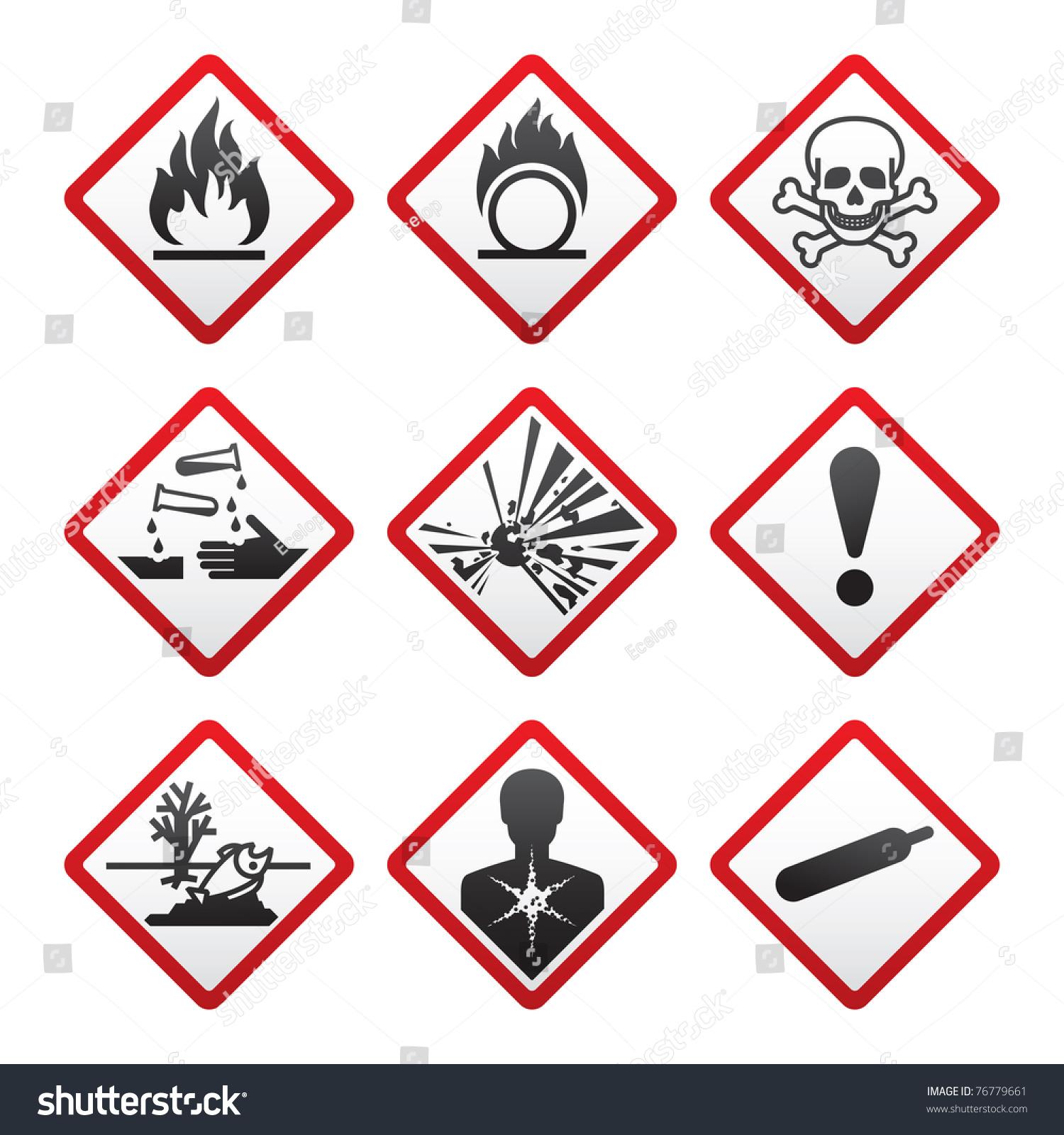 Outdoor Safety Symbols