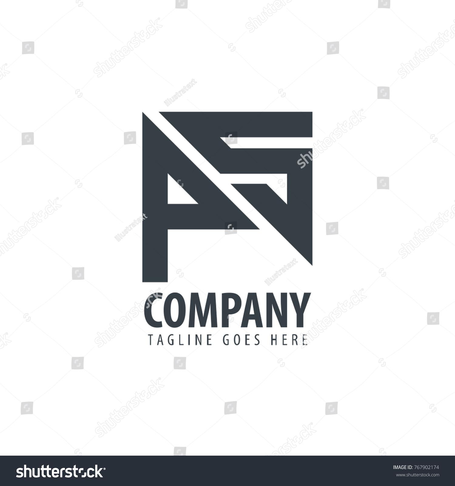 Initial Letter Ps Design Logo Stock Vector   Shutterstock