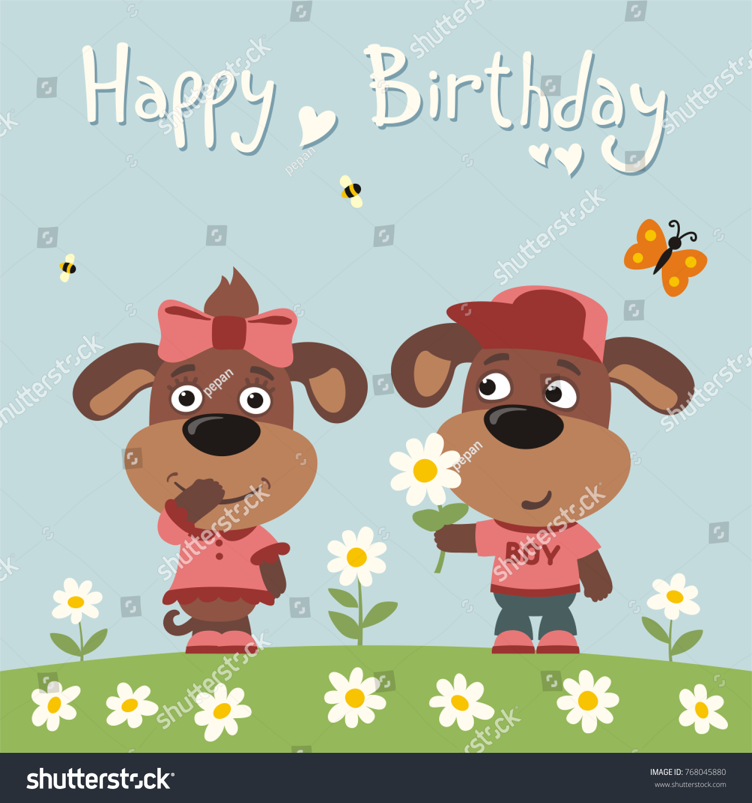 Happy Birthday Dog Cards Image collections Free Birthday Cards