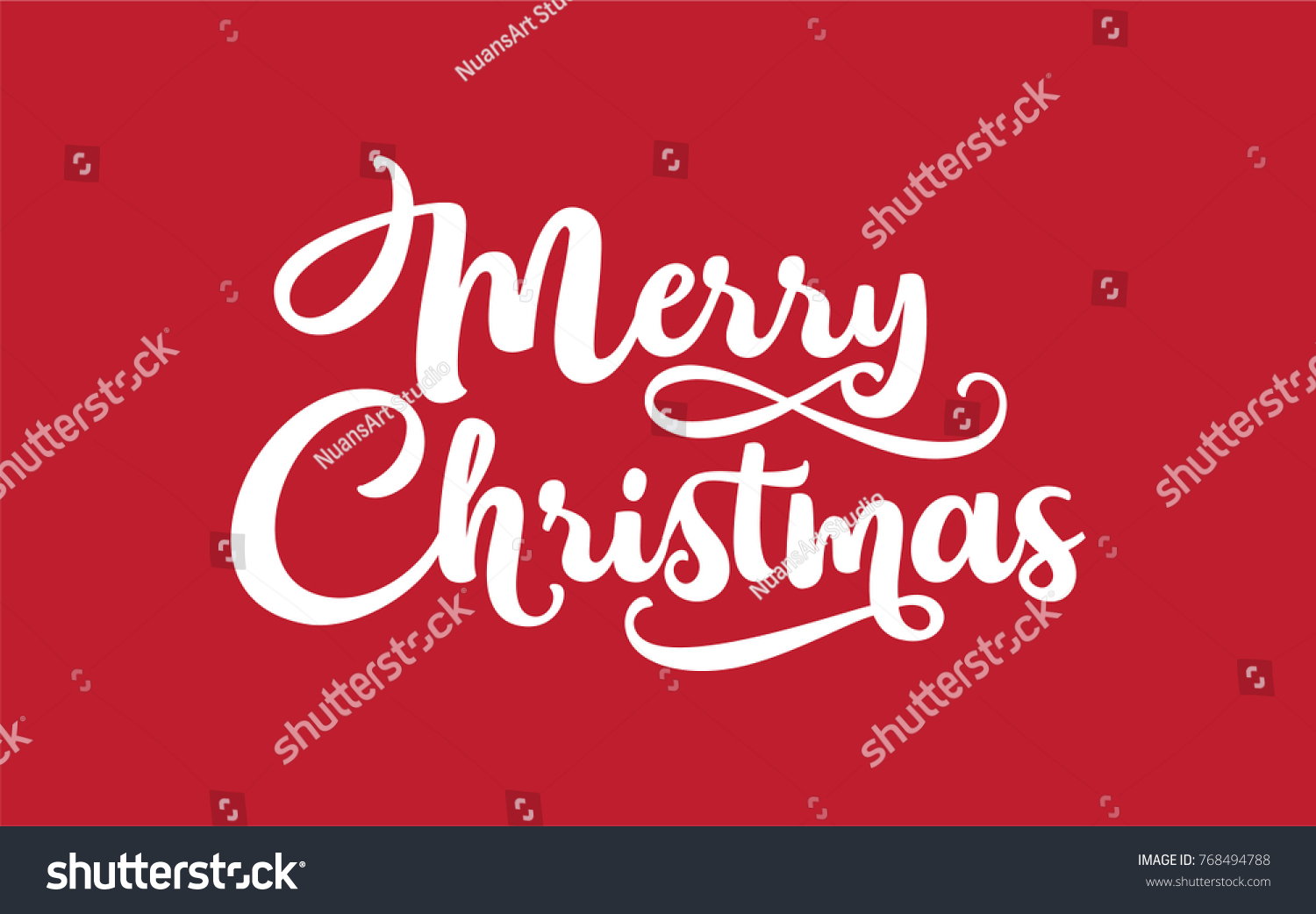Merry Christmas lettering. Good for your Christmas design. Easy for ...
