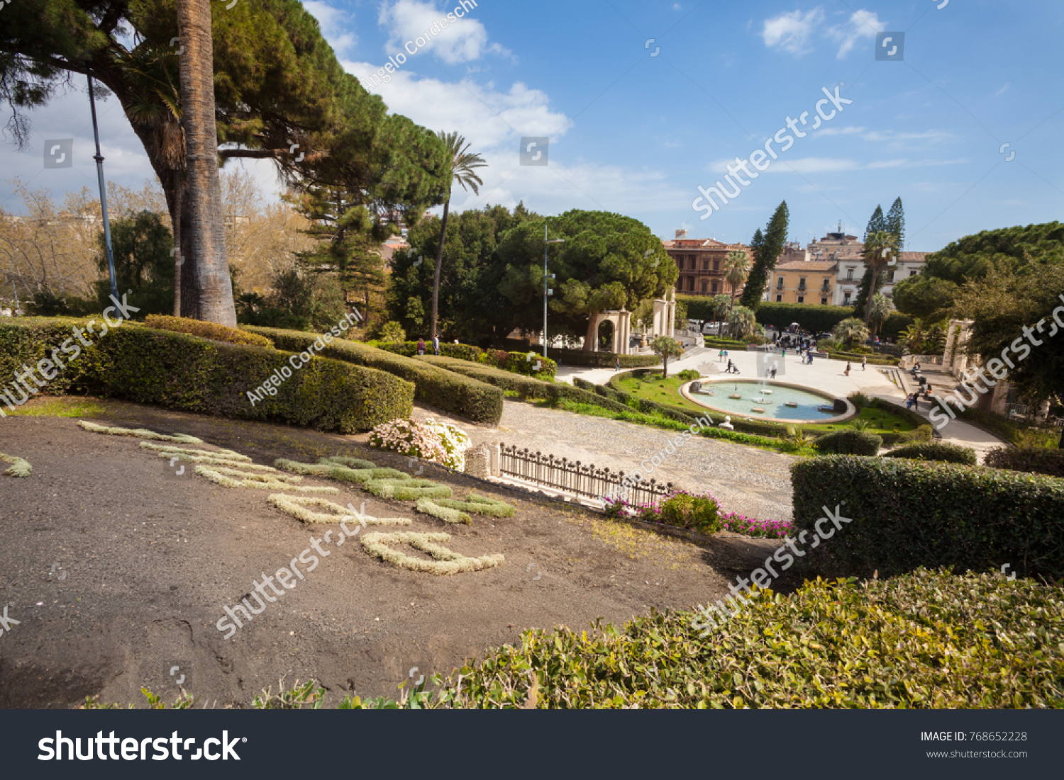 CATANIA ITALY April 03 2015 Bath Stock Photo (Royalty Free ...