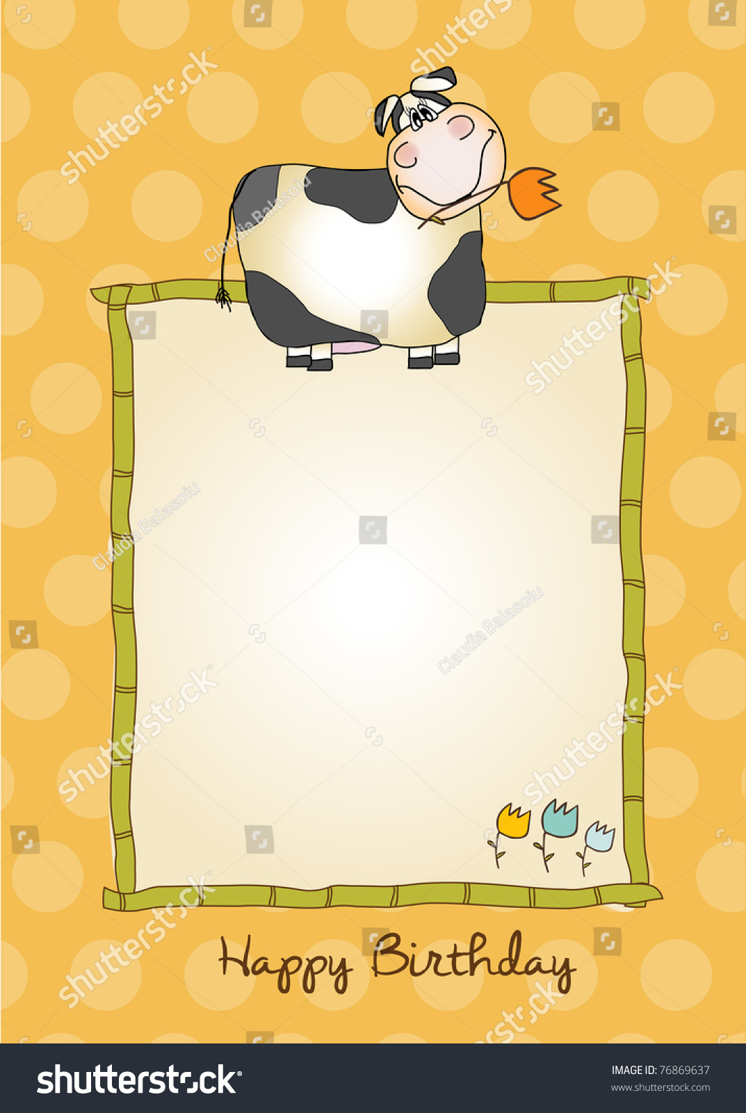 Baby Shower Invitation Stock Vector 76869637 - Shutterstock