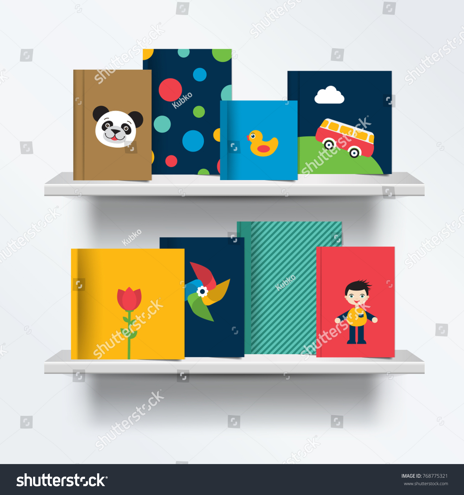 cover books grey shadows kids standing background with bookshelf children royalty image view stock vector hd of front on