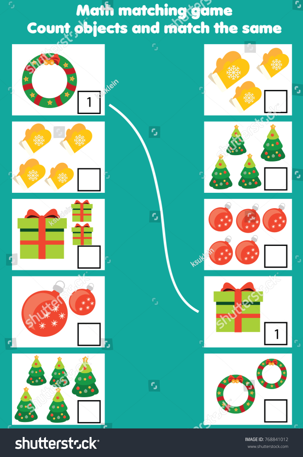 Royalty Free Stock Illustration of Math Educational Game Children ...