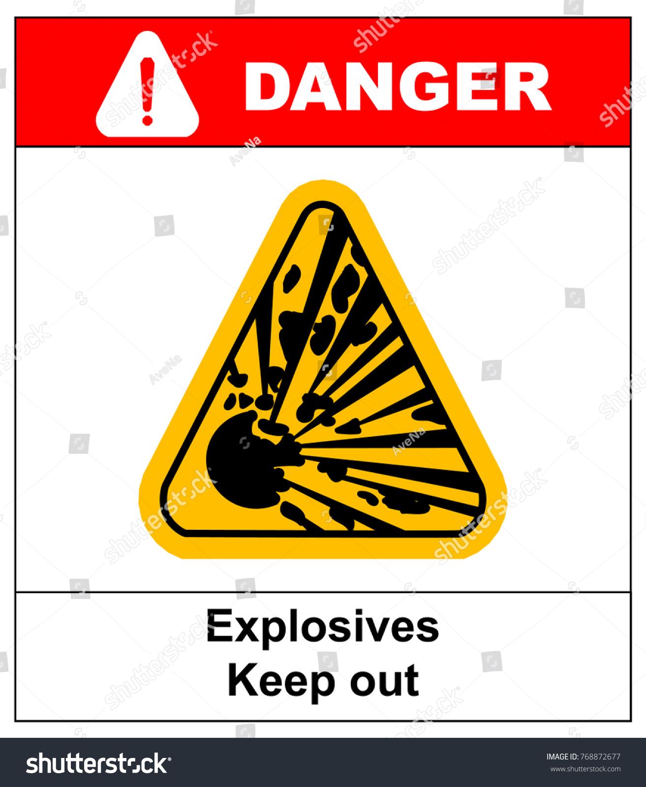 Symbol explosion triangle stock illustration 768872677 shutterstock symbol of the explosion in the triangle buycottarizona Choice Image