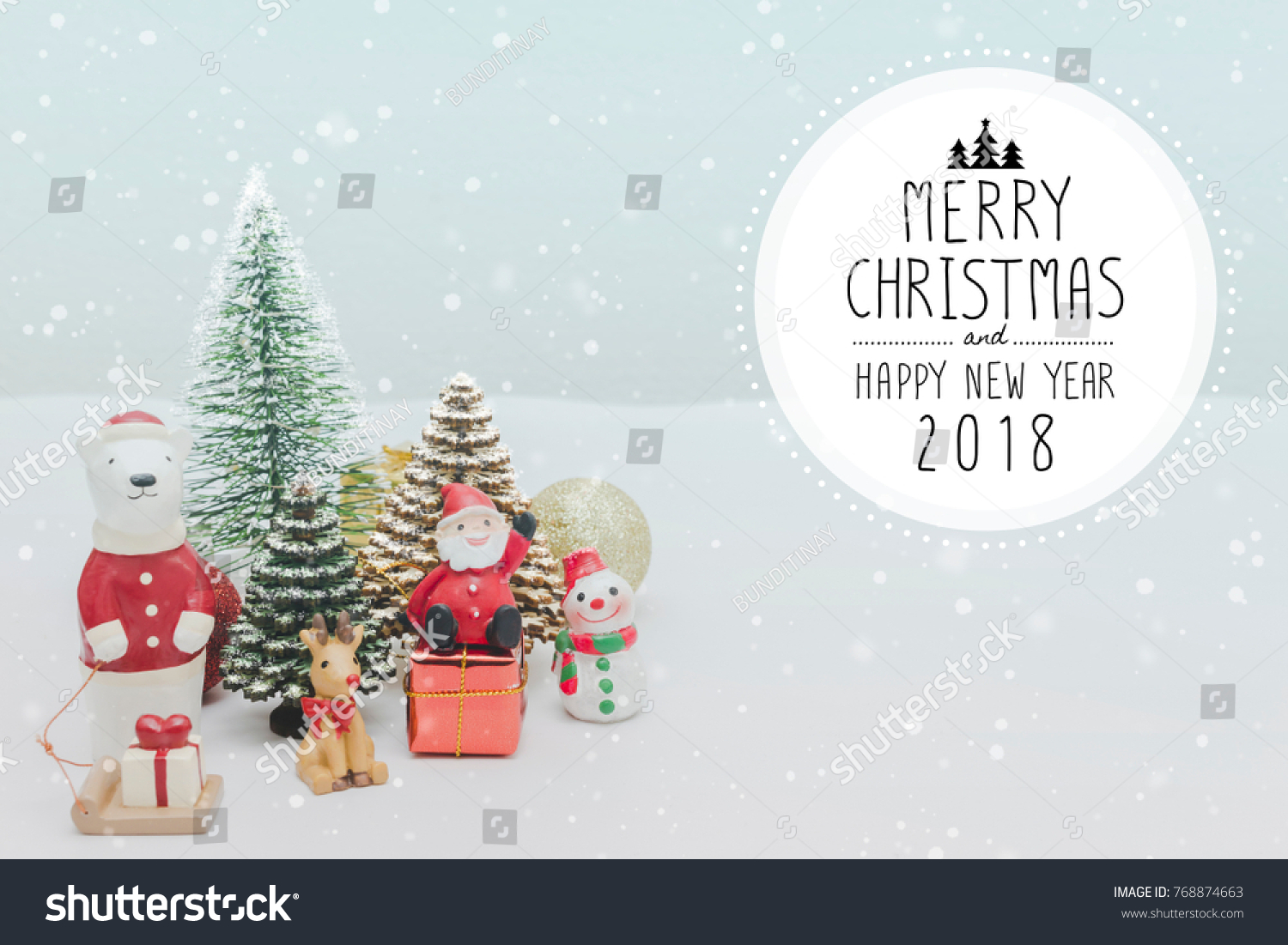 Christmas Toy Doll Christmas New Year Stock Photo (Edit Now ...