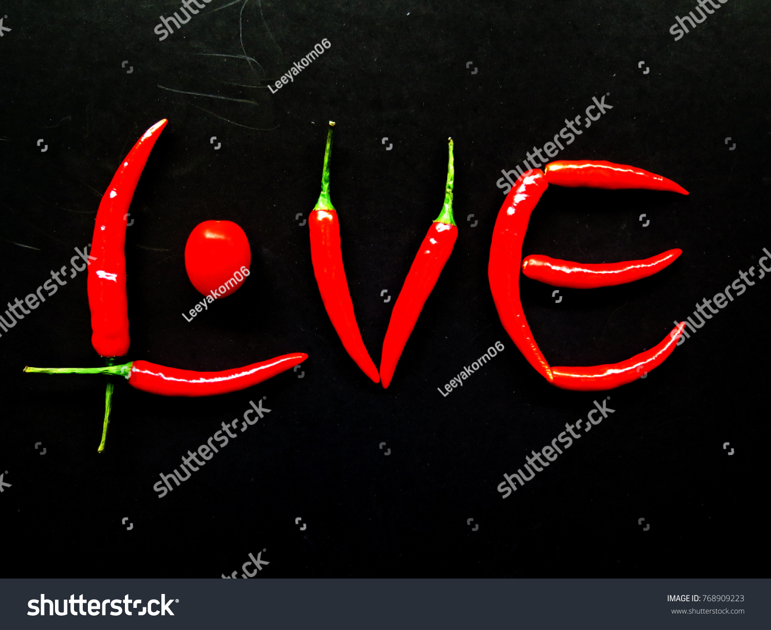 Red Pepper Chili Sherry Tomato Design Stock Photo (Royalty Free ...
