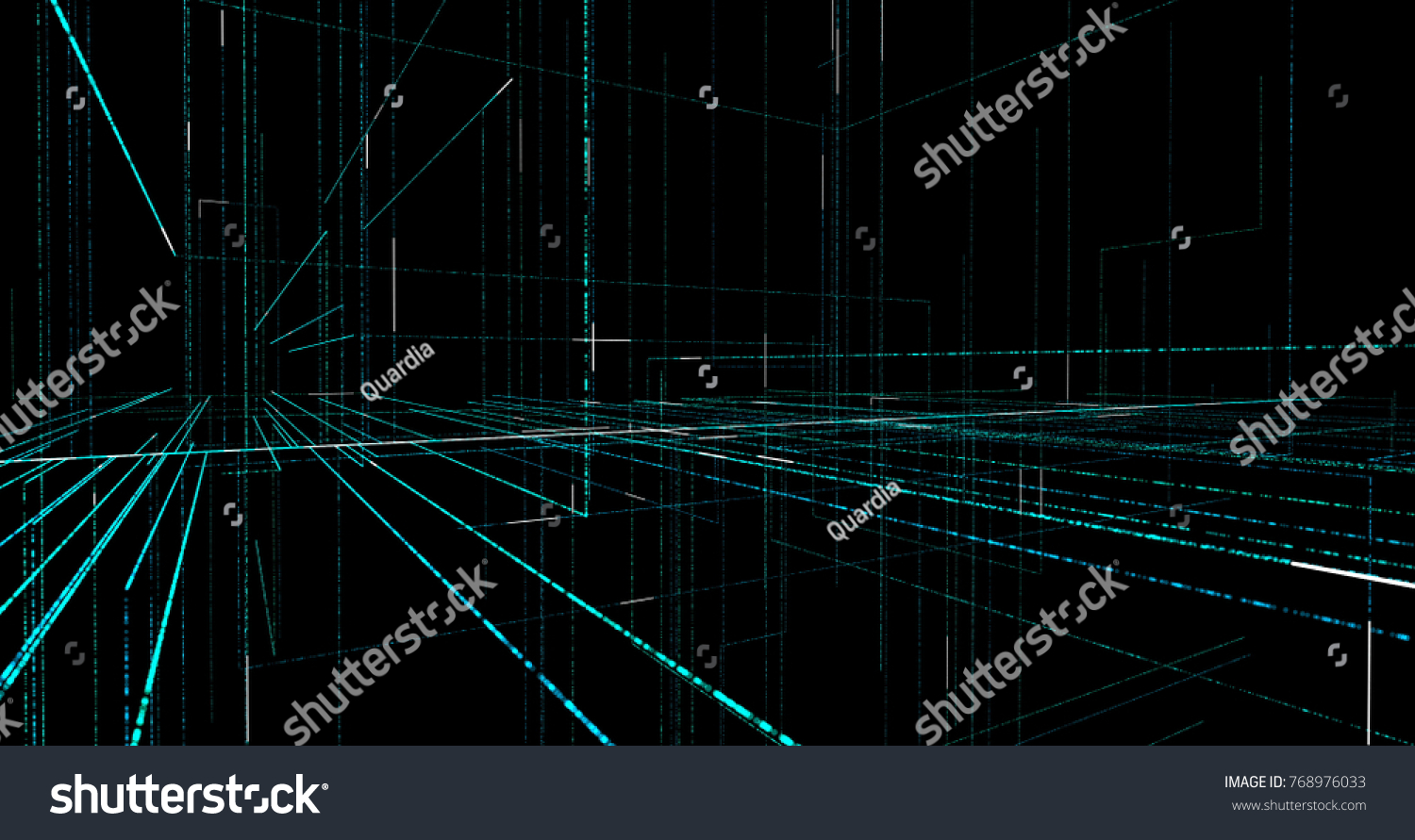 Drawing Lines With Core Graphics : Abstract digital background geometry lines dashes stock
