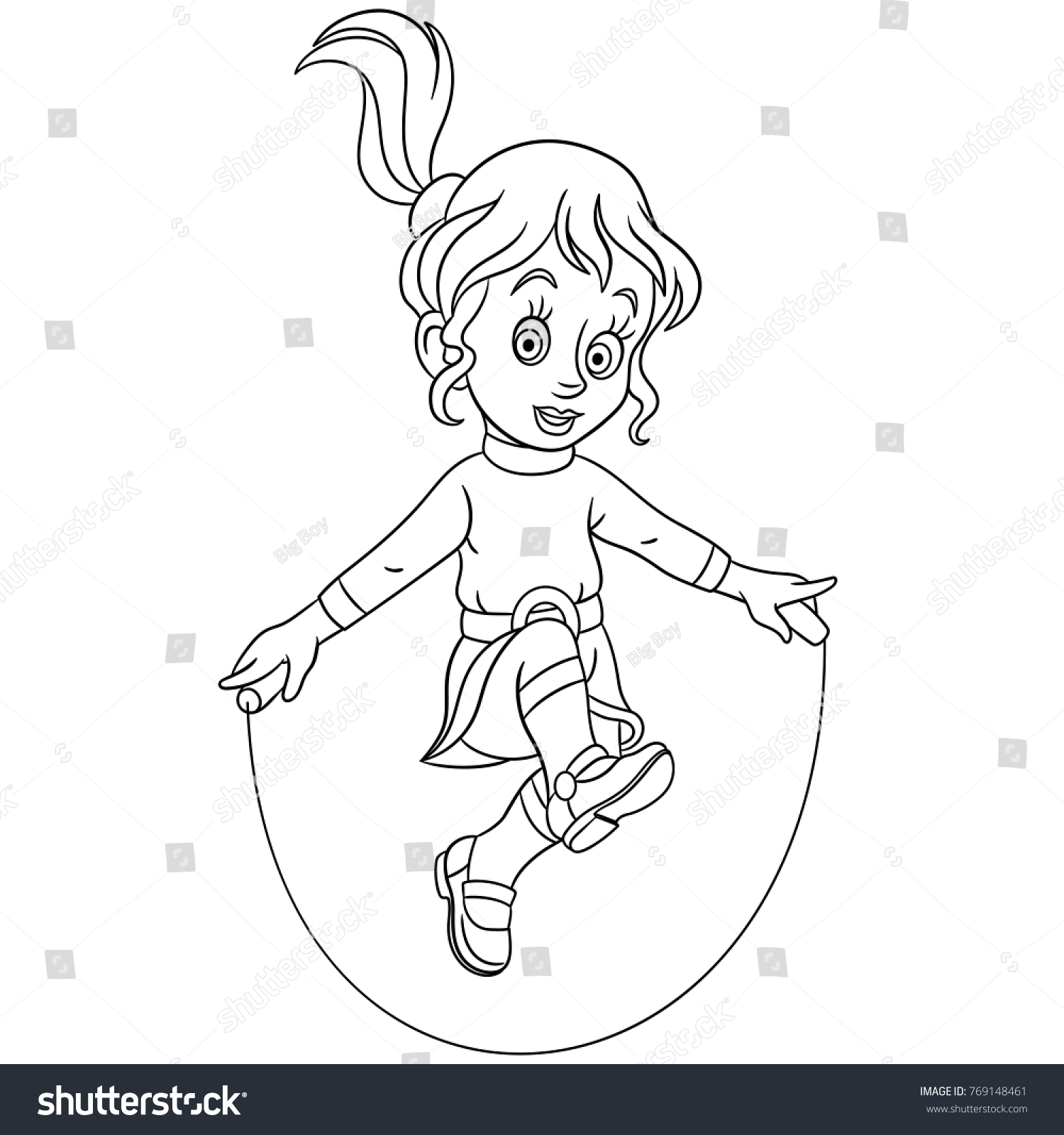 Coloring Pages Kids Design Childrens Colouring Stock Vector ...