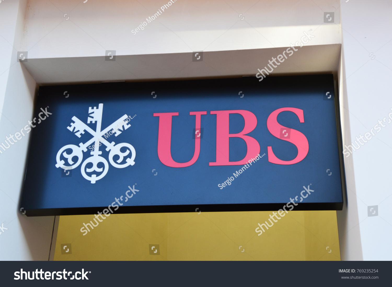 Lugano switzerland november 27 2017 ubs stock photo 769235254 lugano switzerland november 27 2017 ubs bank symbol ubs is a buycottarizona Image collections