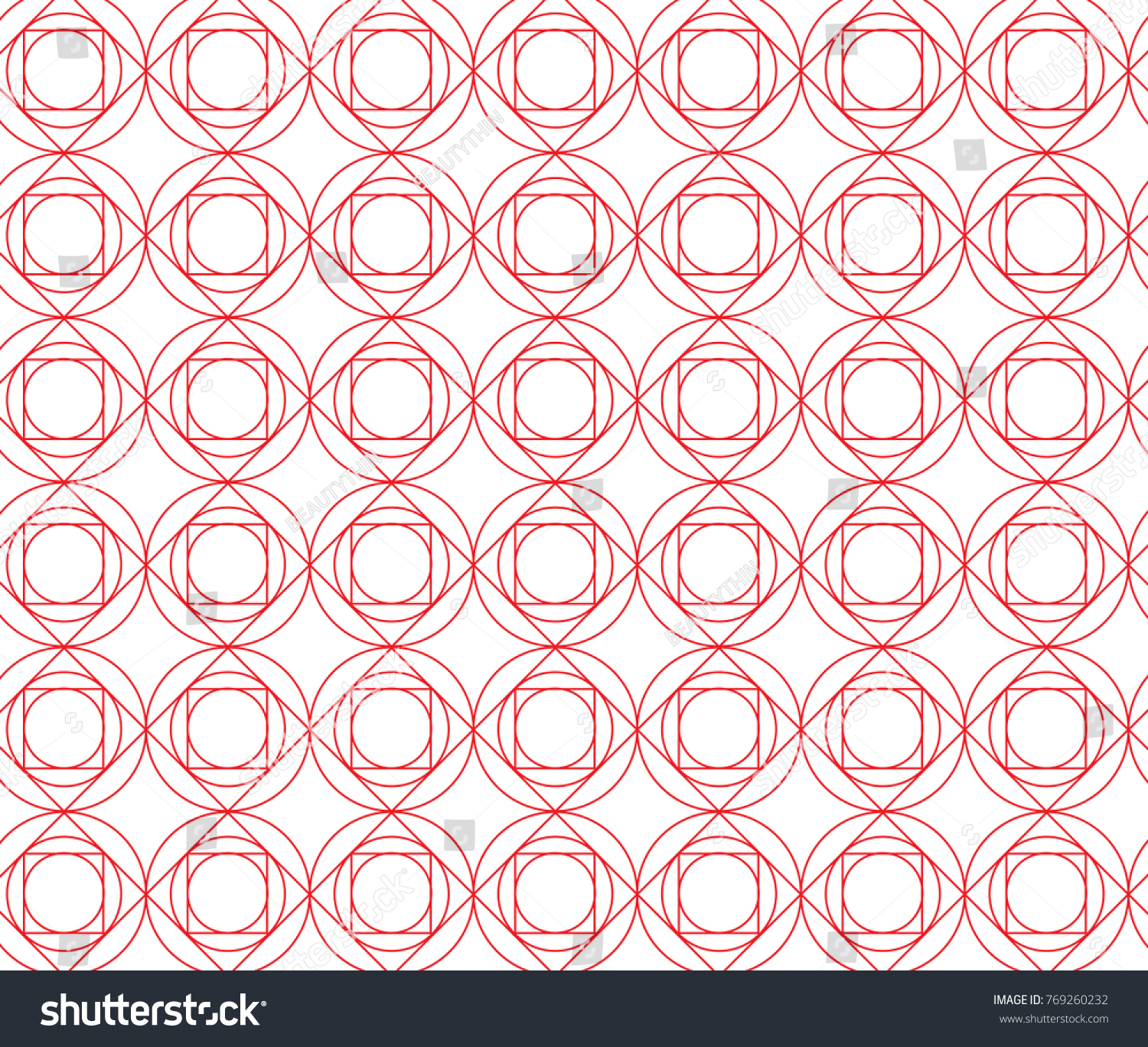 rose image stock background seamless rounded pattern vector diamond