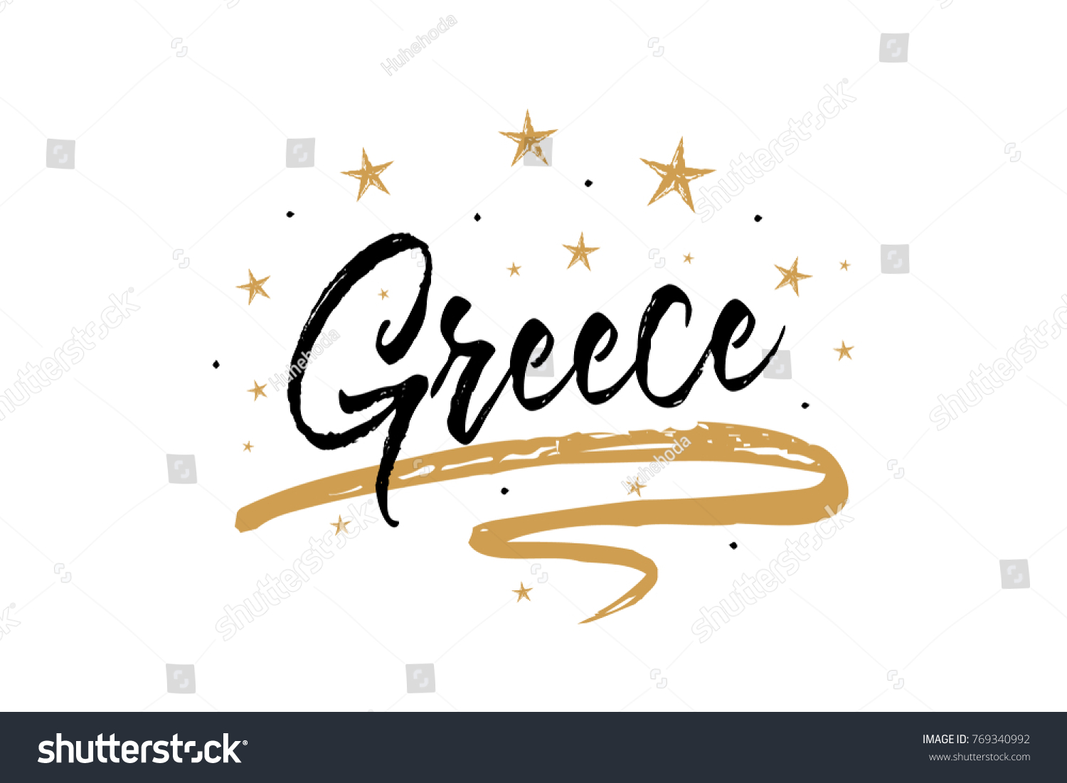 Greece name country word text card stock vector royalty free greece name country word text card banner script beautiful typography inscription greeting calligraphy m4hsunfo