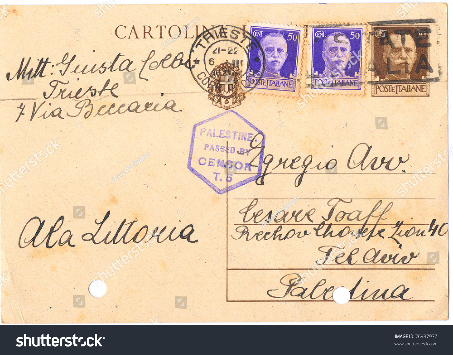 Italian handwritten postcard letter stock photo image 39254147 - Italy Remembering Letters And Postcards 865x423 Italy