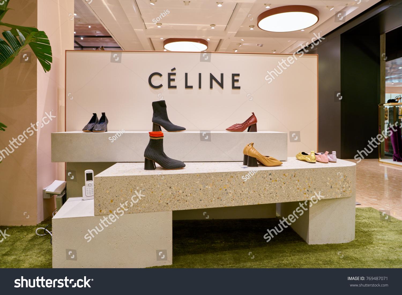 6e21c302f7b ROME ITALY CIRCA NOVEMBER 2017 Celine Stock Photo (Edit Now ...