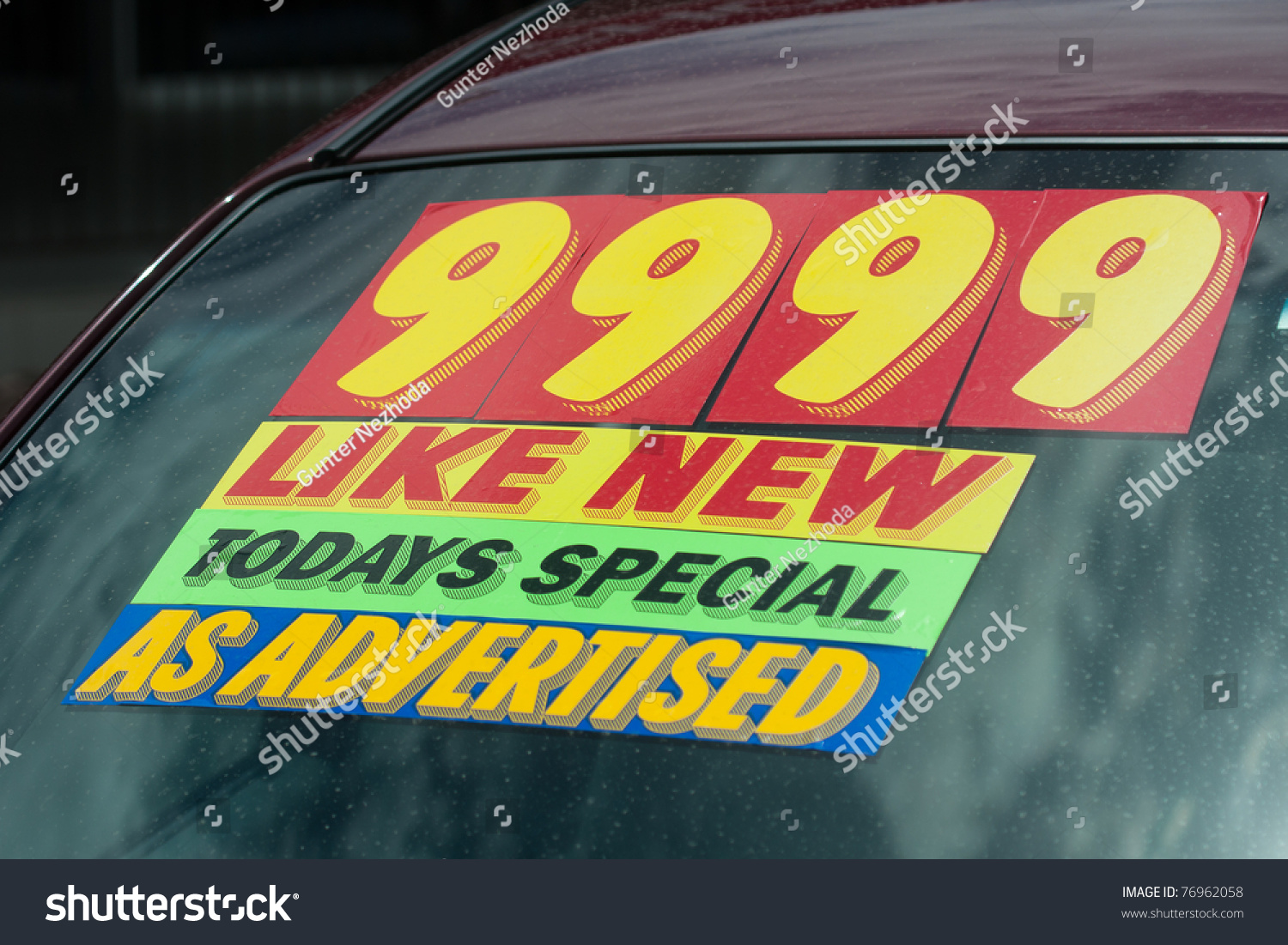 Car Windshield Stickers For Sale