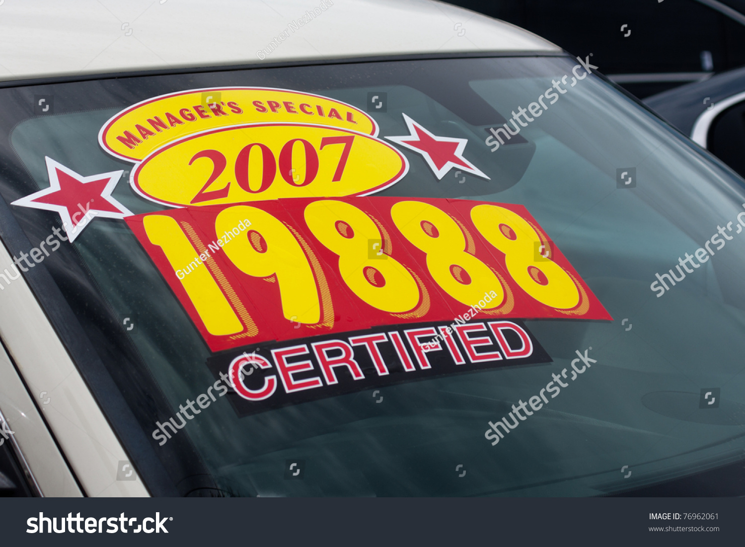 car for sale stickers