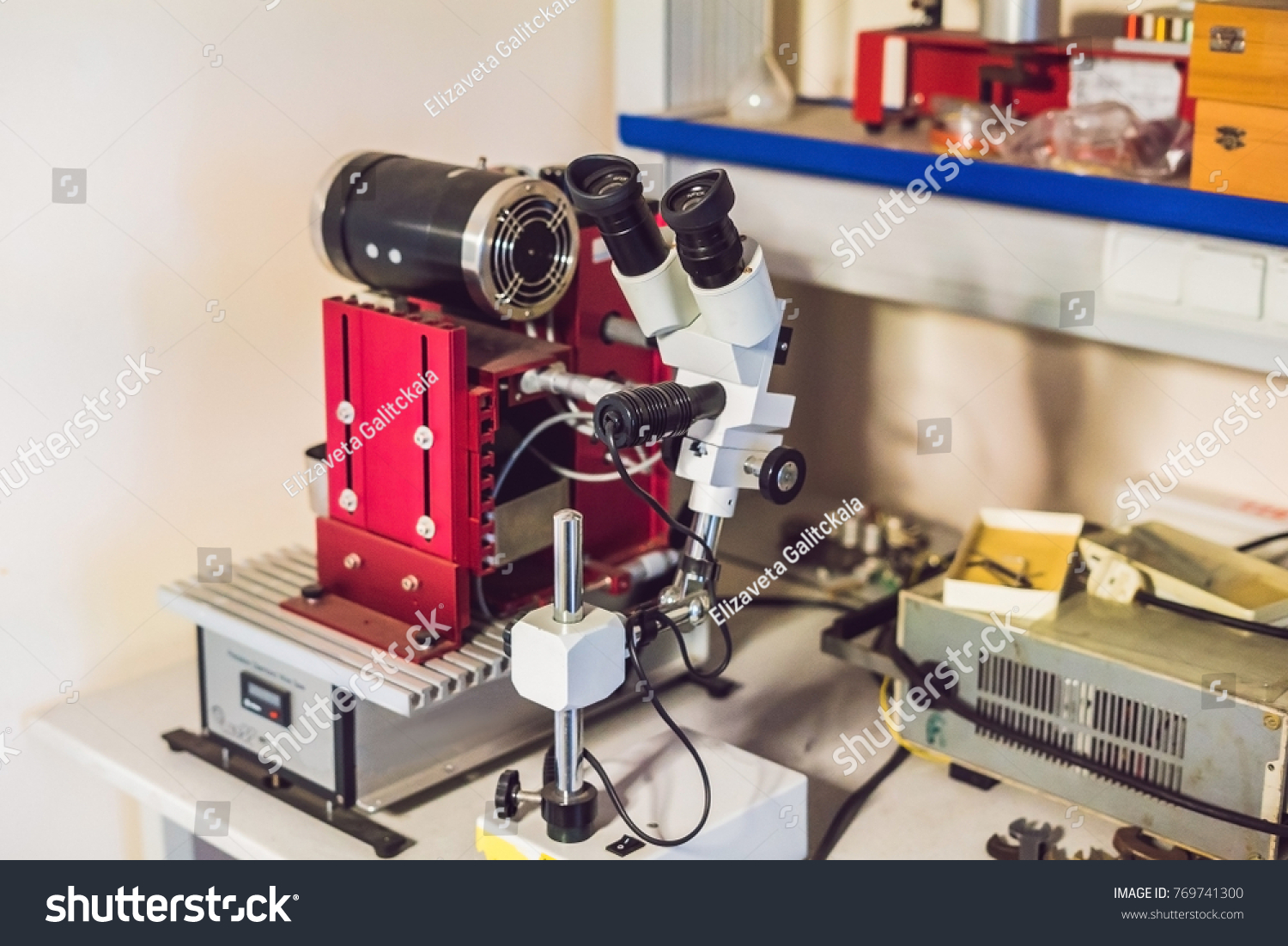 Diamond Wire Cutting Device Cutting Solid Stock Photo (Royalty Free ...